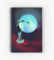 The Moon and the Plant Spiral Notebook
