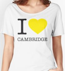 I ♥ CAMBRIDGE Women's Relaxed Fit T-Shirt