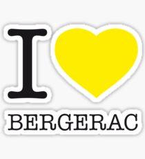 I ♥ BERGERAC Sticker