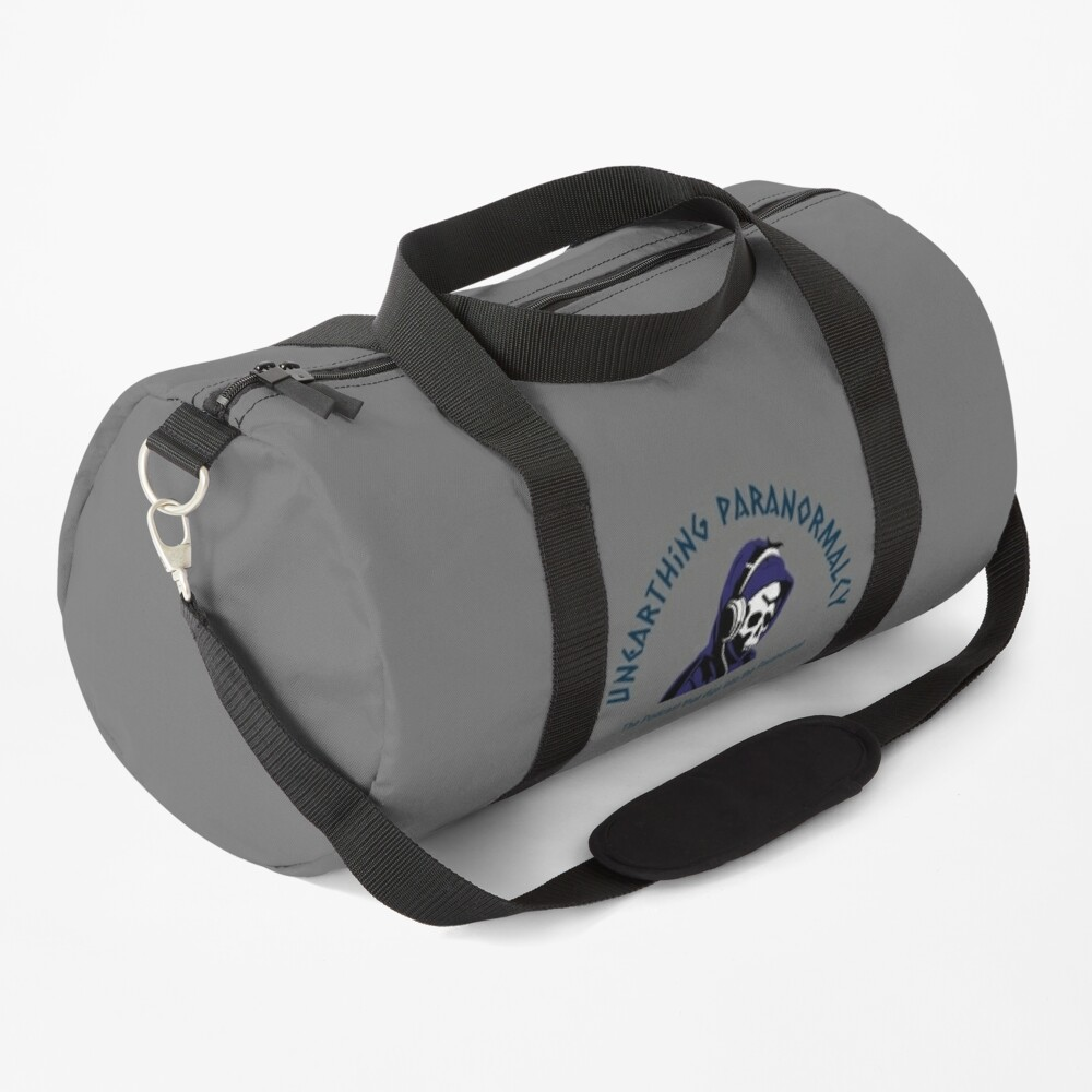 Podcast Merchandise for Unearthing Paranormalcy Duffle Bag