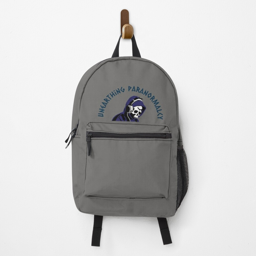 Podcast Merchandise for Unearthing Paranormalcy Backpack