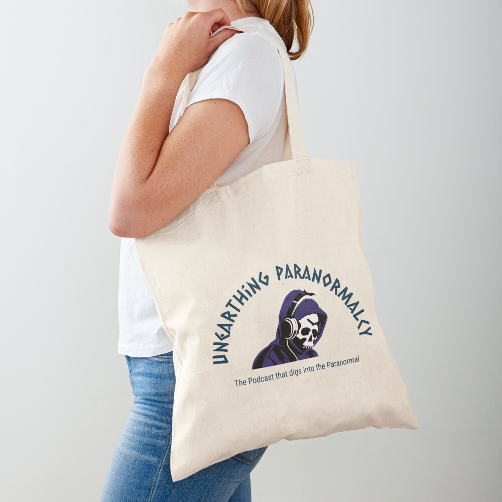 Podcast Merchandise for Unearthing Paranormalcy Tote Bag