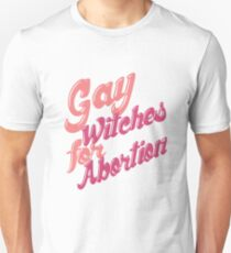 Gay Witches for Abortion Slim Fit T-Shirt