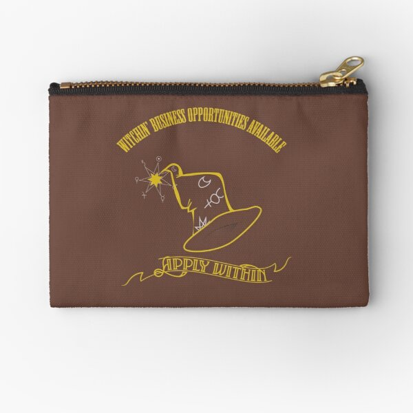 Witchin' Business Opportunities Available - Apply Within! Zipper Pouch