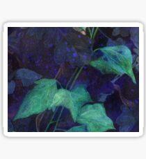 Mitternachtsblau Sticker