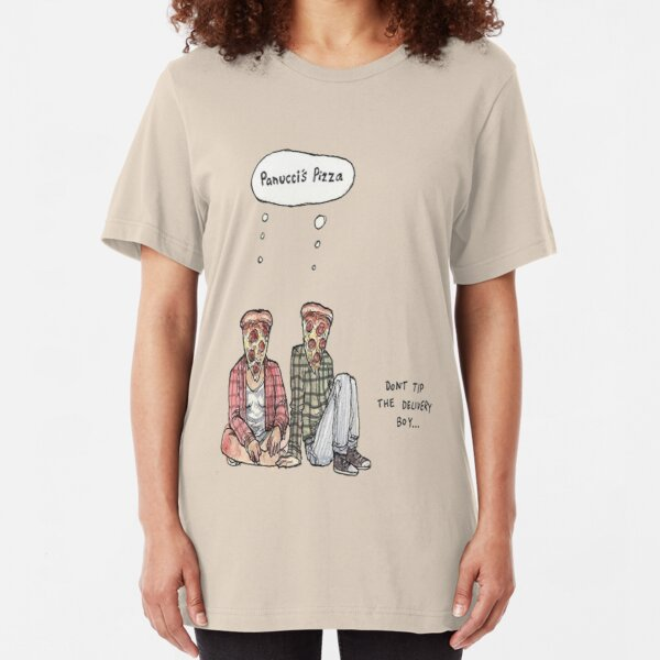 Panucci's Pizza Shirts! Slim Fit T-Shirt