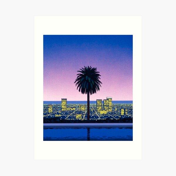 Hiroshi Nagai Vaporwave Art Print