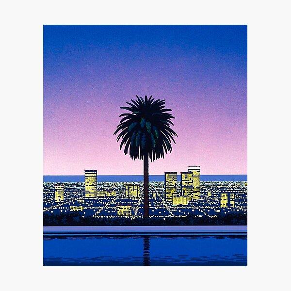 Hiroshi Nagai Vaporwave Lámina fotográfica
