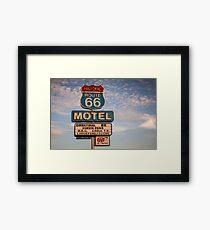 66 Motel Framed Print