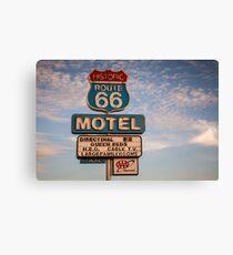 66 Motel Canvas Print