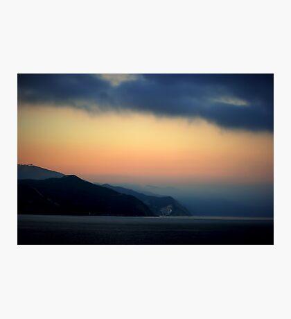 Mystical Sunrise at Catalina Island Photographic Print