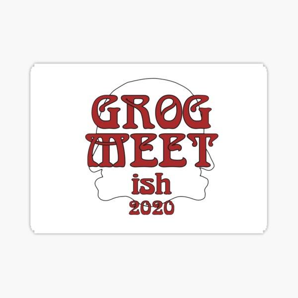 GROGMEETish2020 Logo Sticker