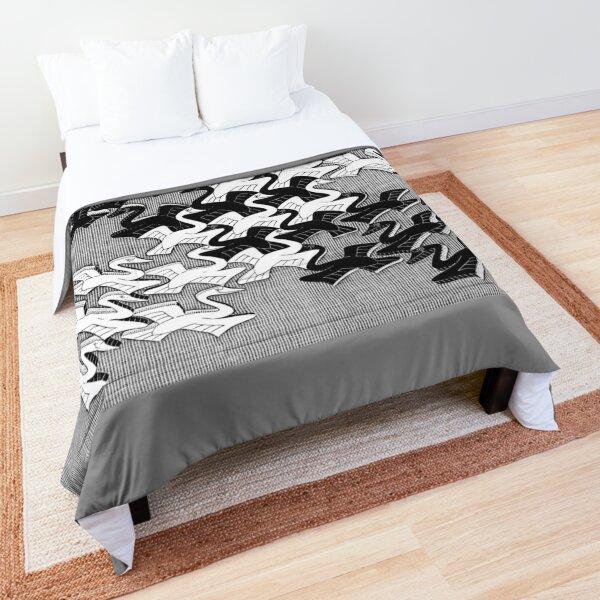 ESCHER SWANS 1956 Comforter