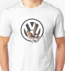Volkswagen Pin-Up Chatty Cathy (gray) T-Shirt