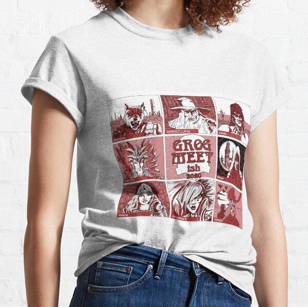 GROGMEETish Celebrity Squares Classic T-Shirt