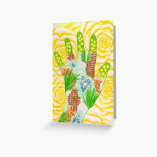 Green Thumb Greeting Card