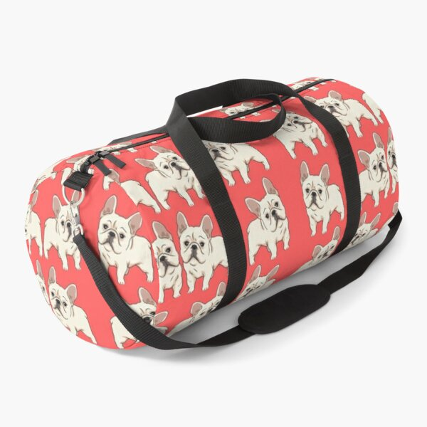 french bulldog seamless pattern Duffle Bag