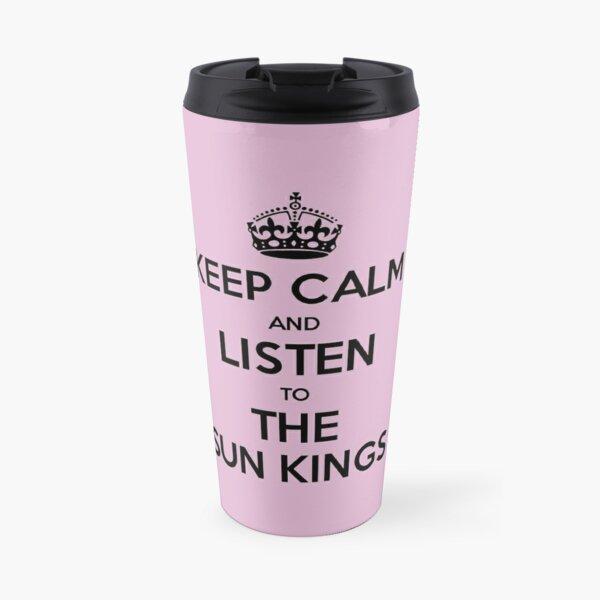 The Sun Kings - Keep Calm and Listen Travel Mug