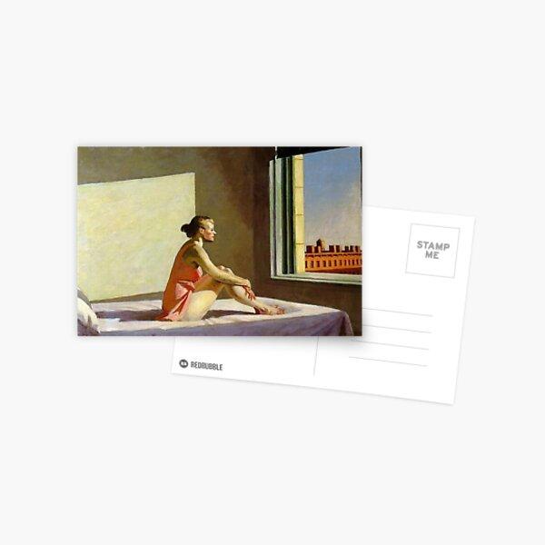 Morning Sun Edward Hopper Postcard