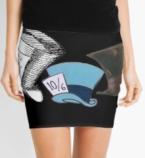 Mad Hatter - All the hats Mini Skirt