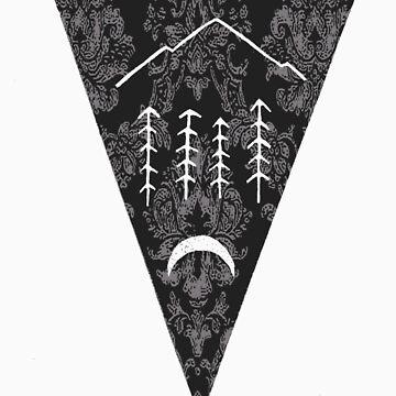 American Haiku Emblem Special Edition Tee by reidwolf