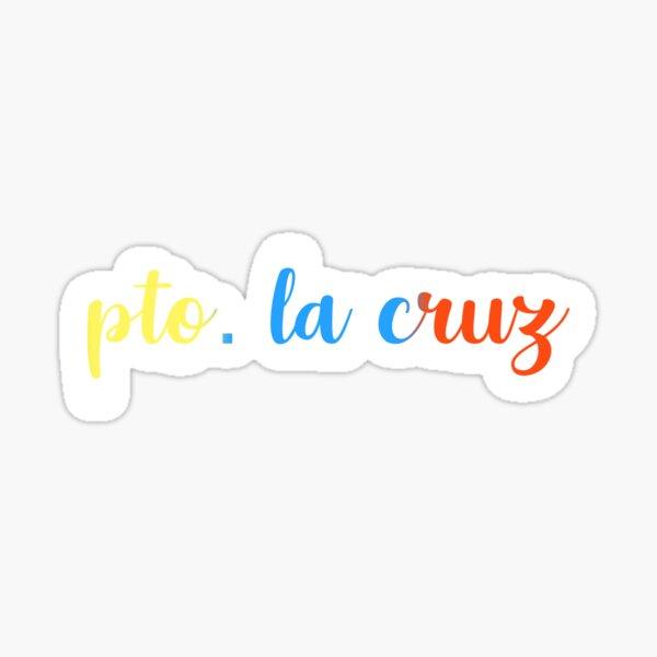 Puerto La Cruz Sticker