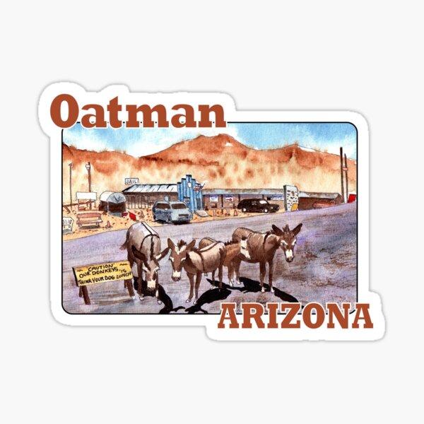 Donkeys of Oatman, Arizona Sticker