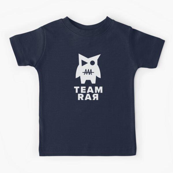 Carter Sharer Team Rar v0 Monster Kids T-Shirt