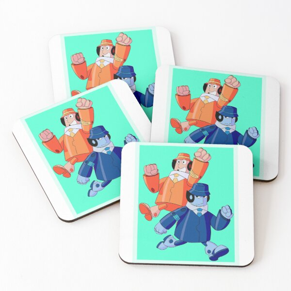 The Gadgetinis Coasters (Set of 4)