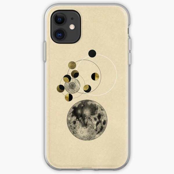 Phases of the Moon iPhone Soft Case