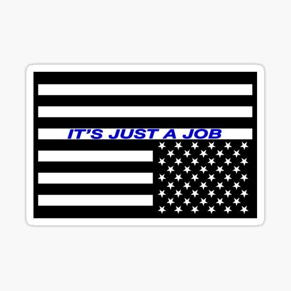 It's just a job sticker  Sticker