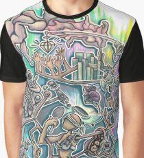 Social Mechanism Graphic T-Shirt