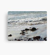 Isle of Wight beach Canvas Print