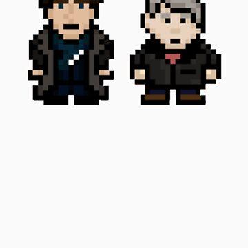 8 Bit Sherlock by FANATEE