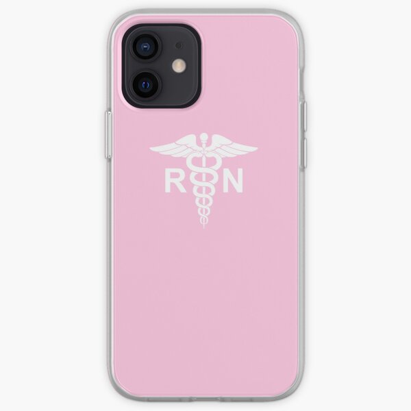 Registered Nurse Pink iPhone Soft Case