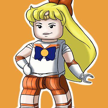 Legolized Sailor Venus by luvusagi