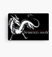spirited away haku dragon Canvas Print
