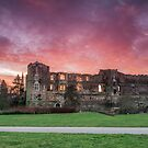 """Dawn over Newark Castle"" by Bradley Shawn  Rabon"