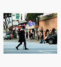 On the Crosswalk Photographic Print