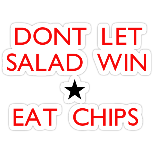 Dont let salad win! by Daaxx