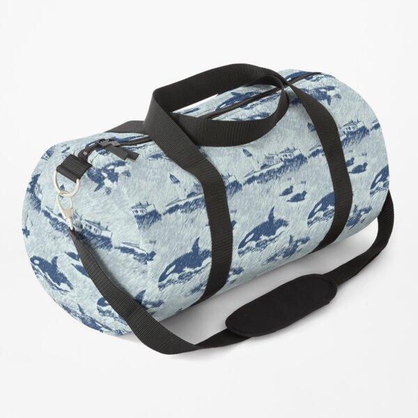Da Shore Side - Blue Duffle Bag
