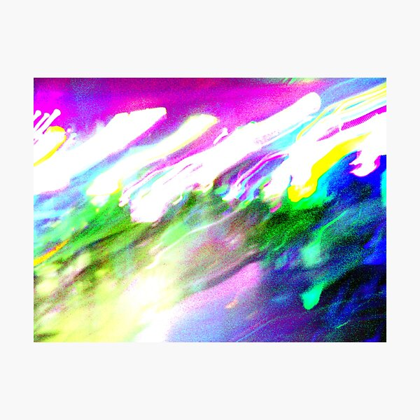 Rainbows at the speed of Light Photographic Print