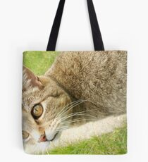 Graceful Kitty Tote Bag