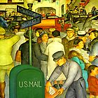 San Francisco U.S Mail Pick-up by Joseph  Coulombe