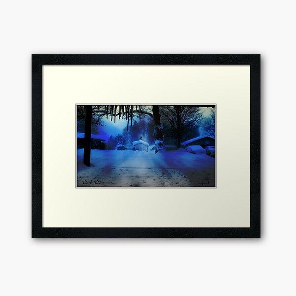 West Wind Framed Art Print
