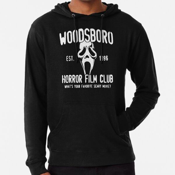 Woodsboro Horror Film Club  Lightweight Hoodie
