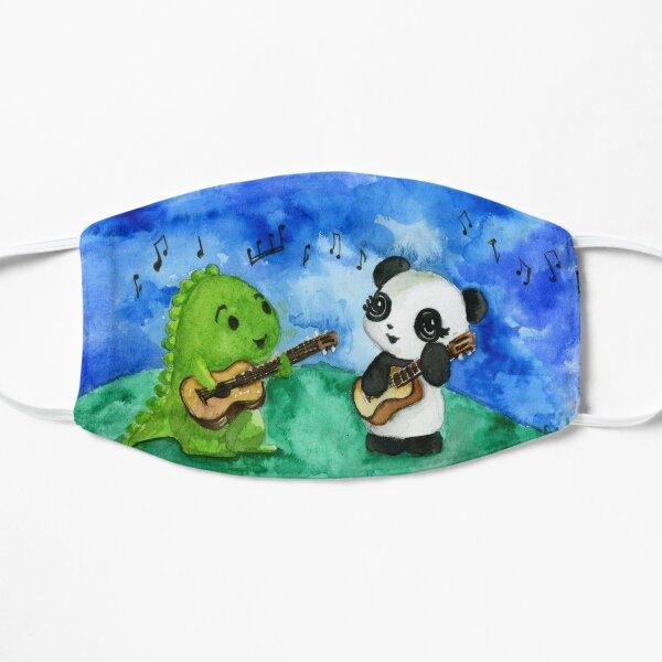 Dino & Panda Ukulele Duet Mask