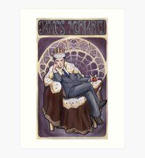 Villain Nouveau- Jim Moriarty Art Print
