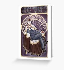 Villain Nouveau- Jim Moriarty Greeting Card