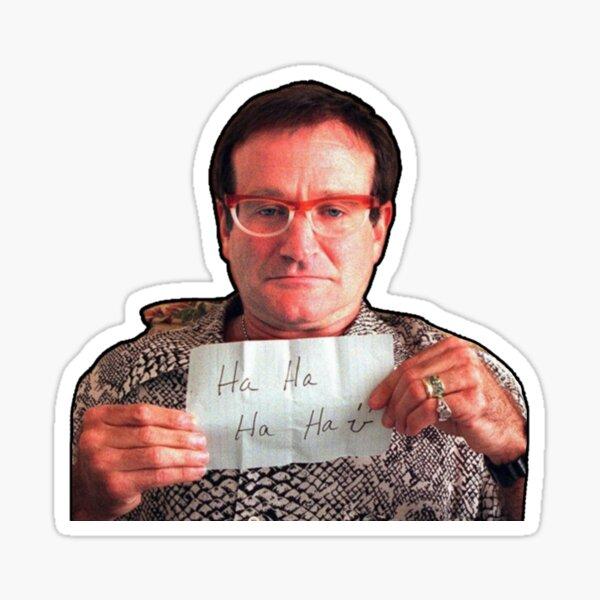 Robin Williams Stickers, Masks,T-Shirts Sticker